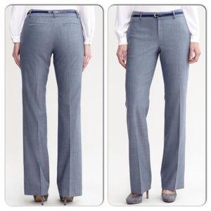 Banana Republic Pants Martin Fit Blue Wool Size 4
